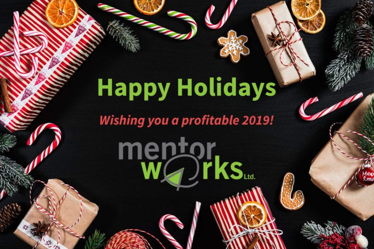 Happy Holidays from Mentor Works!