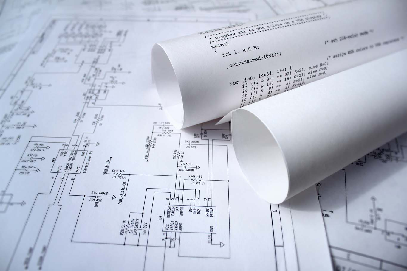 Technology Design With Circuit Diagram And Software